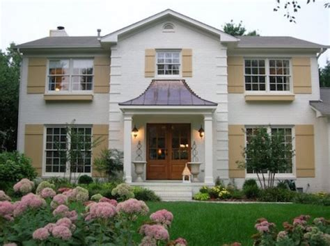 Painted Brick Homes Add Charm & Curb Appeal  Omg