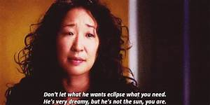 Best Grey's... Cristina Yang Cookie Quotes