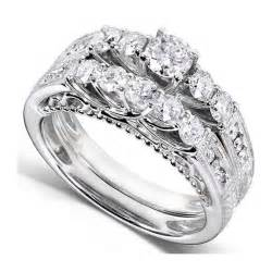 bridal wedding ring sets antique wedding ring set jewelocean