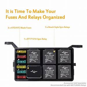 Vehicle Accessories Amazon Car Accessories Fuse Relay Box