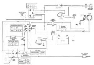 Deere Stx38 Yellow Deck Wiring Diagram wiring diagram for cub tractor wiring get free image