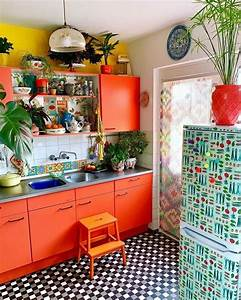 35, Pretty, Colorful, Kitchen, Design, Ideas, For, Exciting