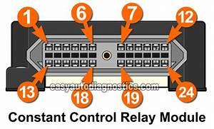 Constant Control Relay Module  Ccrm  Circuits  1996