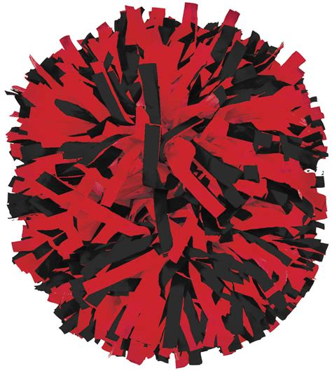 library  red pom poms clip transparent library png files clipart art