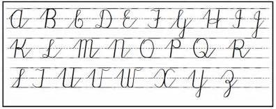 Cursive Handwriting Step By Step For Beginners Cursive Letters Dr Odd How Should We Teach Our Children To Write Cursive Letters Dr Odd