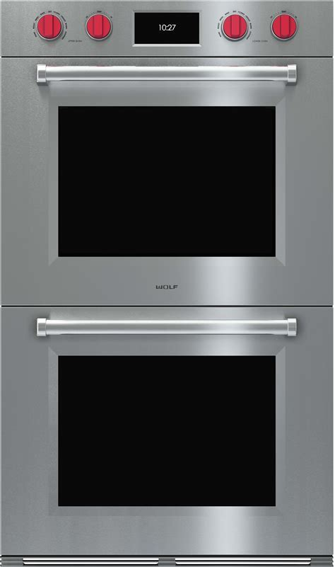 Wolf DO30PMSPH 30 Inch Double Electric Wall Oven with 5.1