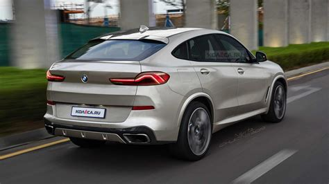 bmw x6 2020 2020 bmw x6 rendered looks to real deal