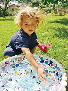 Mosaik Basteln Mit Kindern : st ck f r st ck zum deko gl ck mosaike mit steinchen zum ~ Lizthompson.info Haus und Dekorationen