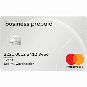 Business prepaid cards best mastercard business prepaid for Business prepaid credit card