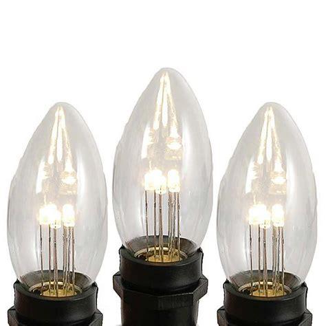 c9 clear christmas lights clear and white c9 bulbs novelty lights inc