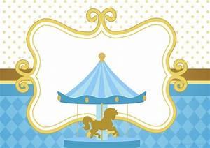 Decoración con Carrousel niños: Kits para Baby Shower, Nacimiento, Bautismo, Primer Añito Mi