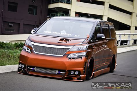 Toyota Vellfire Modification by Toyota Vellfire Modified Cars Modifikasi Vellfire