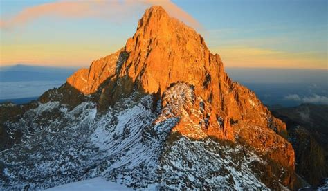 highest mountains  kenya worldatlascom
