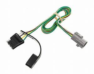 Curt T-connector Vehicle Wiring Harness For Factory Tow Package