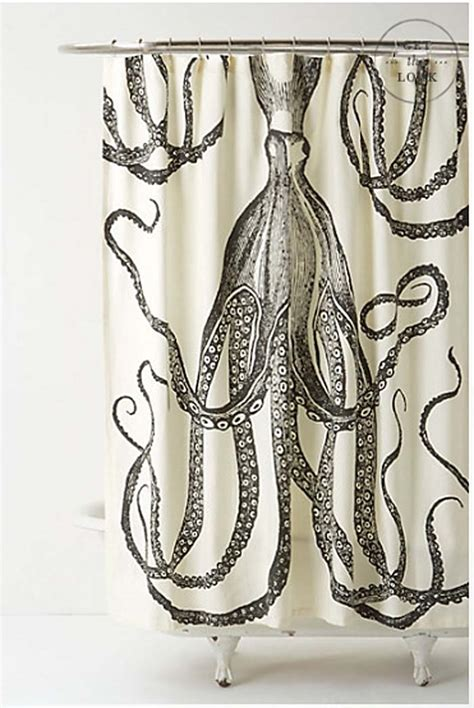 octopus shower curtain hit the showers shower curtains with whimsy juvenile