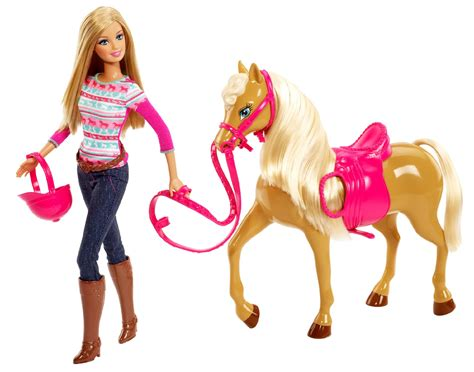 Barbie Sisters Doll With Tawny Horse