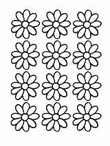 Daisy Coloring Scout Printable Pages Printables Flower Daisies Scouts Activities Outline Template Puzzles Word Flowers Pattern 2009 Clip Sheet Printables4kids sketch template