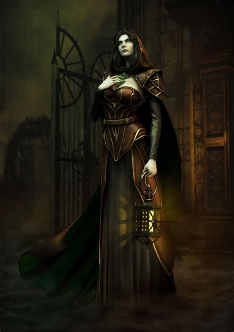Castlevania Lords Of Shadow 2 Concept Art Is Darkly