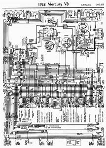 Wiring Diagrams Of 1958 Mercury V8 All Models  U2013 Circuit