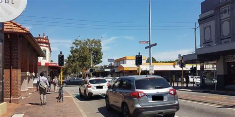 leederville traffic lights   businesses