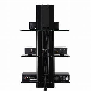 Fitueyes Wall Mounted Shelf Bracket Stand DVD Receiver ...