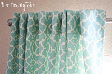 curtains step  step sewing tutorial