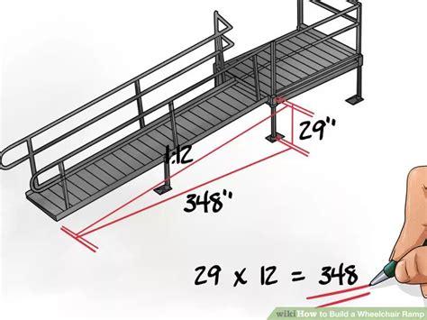 build  wheelchair ramp wheelchair ramp