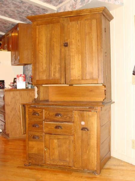 hoosier kitchen cabinet  elwell kitchern cabinet