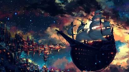 Odyssey Seerlight Sky Ship Skyship Fantasy Fenix