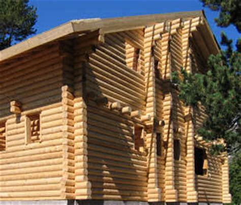 maison en bois massif empile panorama des maisons en bois