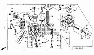 New Genuine Honda Oem Rancher 350 Carburetor Fits 2000