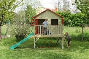 Cabane Enfant Plastique : cabane de jardin enfant avec toboggan les cabanes de ~ Preciouscoupons.com Idées de Décoration
