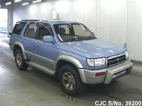 1996 toyota hilux surf 4runner blue for sale stock no 39200 used cars exporter