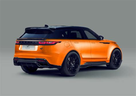 aspire range rover velar  widebody kit tuning