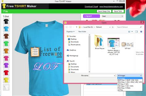software program aplikasi custom software t shirt creator version free picture solutions