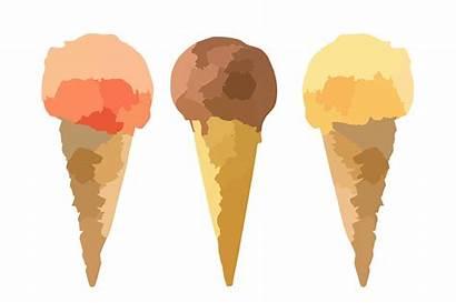 Icecream Ice Cream Cones Clip Vanilla Ben