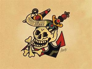 Sailor Jerry Anchor Wallpaper | www.imgkid.com - The Image ...