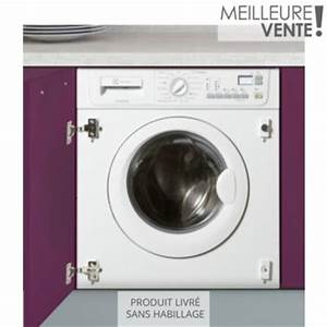 Dimension Lave Linge Hublot : machine a laver encastrable machine a laver dimension ~ Premium-room.com Idées de Décoration