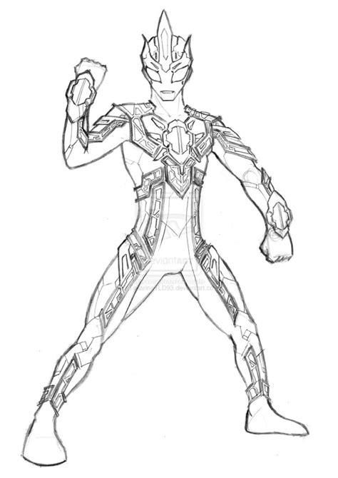 Ultraman Ginga Free Coloring Pages