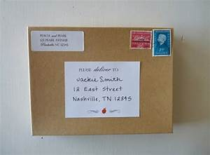 peach and pearl pp packaging With how to send a shipping label to someone
