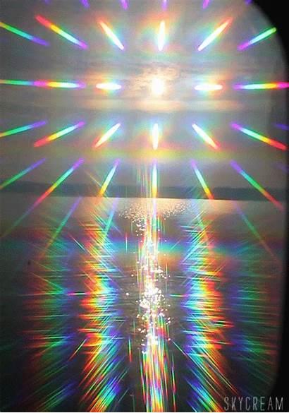 Aesthetic Hologram Holographic Rainbow Background Gifs Grunge