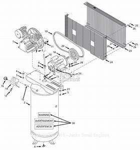 Campbell Hausfeld Hs581600aj Parts Diagram For Air