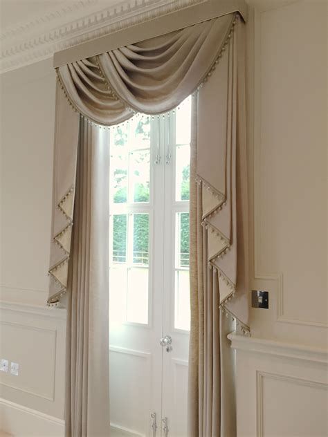 Swag Valances Window Treatments by We Created These Stunning Luxurious Window Treatments