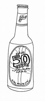 Beer Bottle Pages Drawing Draw Template Sketch Coloring Getdrawings sketch template