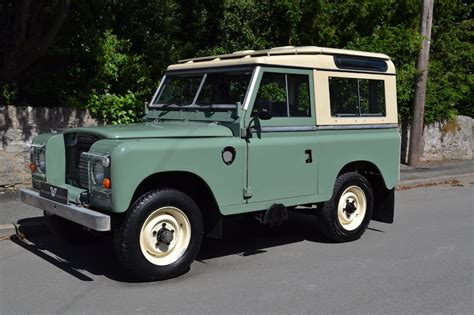 original land rover land rover series 3 88 quot county station wagon 1982 very