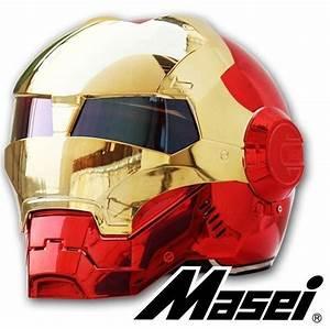 Voiture Iron Man : casque moto iron man masei 610 marvel avengers 600 x 597 route pinterest casque moto ~ Medecine-chirurgie-esthetiques.com Avis de Voitures