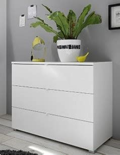 Commode Laquee Blanche Design by Commode Blanche Design Lavina