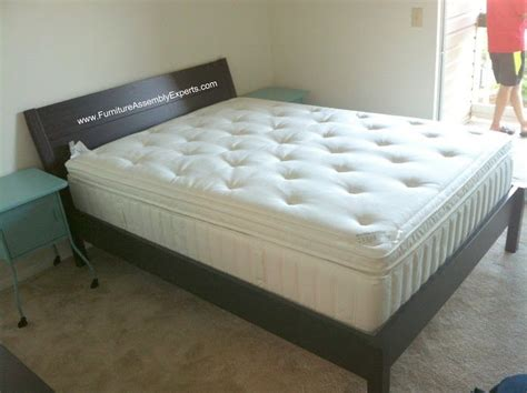 ikea nyvoll bed ikea nyvoll bed assembled in baltimore md by furniture