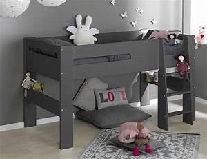 Lit D Enfant Avec Barrière : un lit cabane dans une chambre d 39 enfant blueberry home ~ Premium-room.com Idées de Décoration