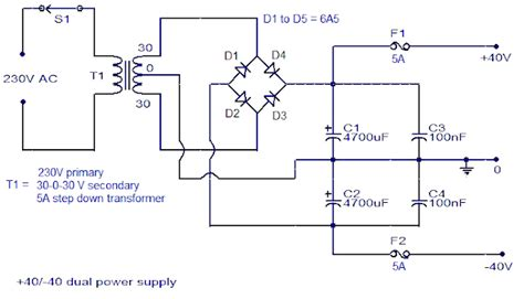 simple 150 watt lifier circuit using transistors elektrik